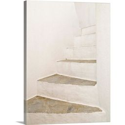 """Great BIG Canvas   """"White Stairs"""" Canvas Wall Art   Walmart (US)"""