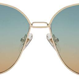 Fashion Square Aviators Sunglasses for Women Flat Mirrored Lens SJ1082   Amazon (US)