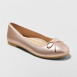 Girls' Stacy Slip-On Ballet Flats - Cat & Jack™   Target