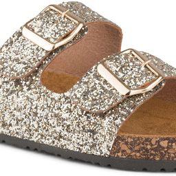 Payton Women's Sandals with Cork | Ladies Slides Double Buckle Strap Platform Flats | Amazon (US)