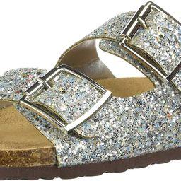 Women's Sparkle Glitter Slip On Casual Sandals | Amazon (US)
