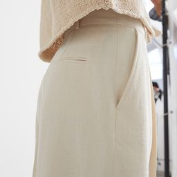 Relaxed Tailored Press Crease Trousers | & Other Stories
