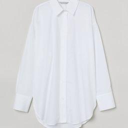 Cotton Poplin Shirt | H&M (US)