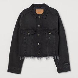 Boxy Denim Jacket   H&M (US)