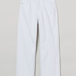 Straight High Ankle Jeans   H&M (US)