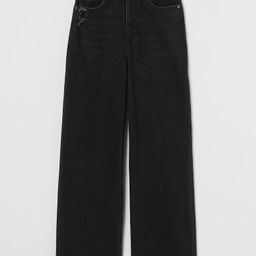 Wide High Ankle Jeans   H&M (US)