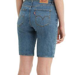 Levi's Women's Denim Shorts Hawaii - Medium Indigo Hawaii Sun Denim Bermuda Shorts - Women | Zulily