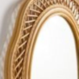 Malorie Wicker Wall Mirror   Urban Outfitters (US and RoW)