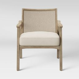Chelmsford Cane Lounge Chair Natural - Threshold™ | Target