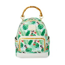 Mickey and Minnie Mouse Tropical Loungefly Mini Backpack   shopDisney