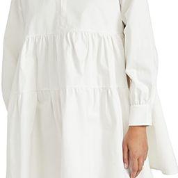 Cotton Poplin Mini Dress   Shopbop