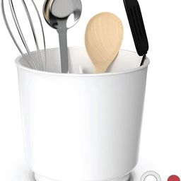 Extra Large Rotating Utensil Holder Caddy with Sturdy No-Tip Weighted Base, Removable Divider, an...   Amazon (US)