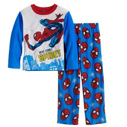 Boys 4-10 Marvel Spider-Man Heroes 2-Piece Top & Bottoms Pajama Set | Kohl's