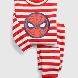 babyGap | Marvel Spider-Man 100% Organic Cotton Stripe PJ Set | Gap (US)