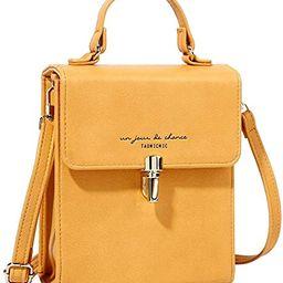 Women's Small Crossbody Bag Top Handle Clutch Handbags Fashion Shoulder Bag Tote Purse   Amazon (US)