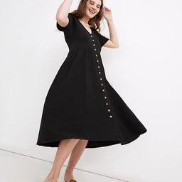 Lightspun Button-Front Midi Dress | Madewell