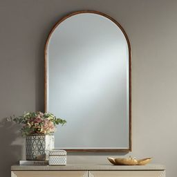 "Uttermost Clara Gold 24"" x 39"" Arch Top Wall Mirror | Target"