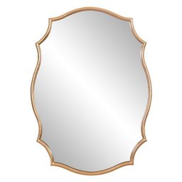 24x36 Gold Ornate Wall Accent Mirror | Walmart (US)