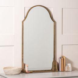 "Sofia Shelf Mirror, Gold, 20"" x 38"" | Pottery Barn (US)"
