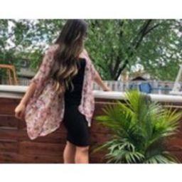 Kimono, Kimono cardigan, Floral kimono, Gift for her, Kimono jacket, Beach cover, Womens Clothing, K | Etsy (CAD)