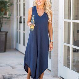 Reverie Dress- Navy by Z Supply   Avara