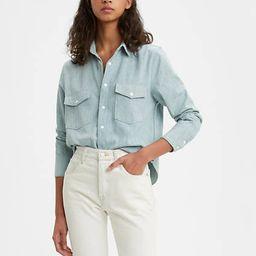 Levi's Shrunken Denim Shirt - Women's XL | LEVI'S (US)