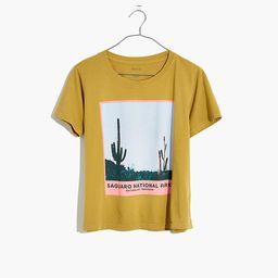 Madewell x Parks Project Saguaro National Park Crewneck Tee | Madewell