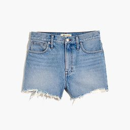 The Perfect Jean Short in Hedrick Wash   Madewell