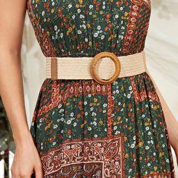 Braided Buckle Woven Belt | SHEIN