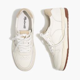 Court Sneakers in White Leather   Madewell