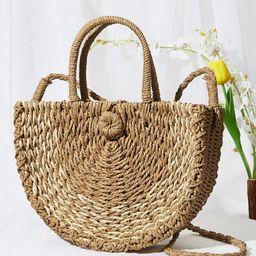 Straw Tote Bag | SHEIN
