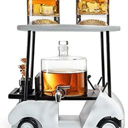 Golf Decanter Whiskey Decanter and Whiskey Glasses - The Wine Savant, Golf Gifts for Both Men & W...   Amazon (US)