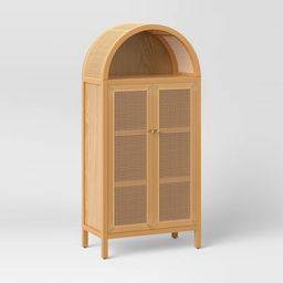 Arched Wood Cabinet Brown - Opalhouse™ | Target