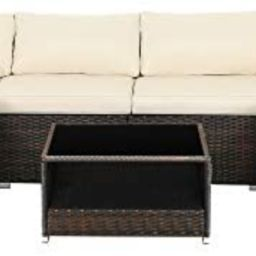 SONGMICS 7-Piece Patio Furniture Set, Outdoor Sectional Sofa Couch, Handwoven PE Wicker Rattan Pa...   Amazon (US)