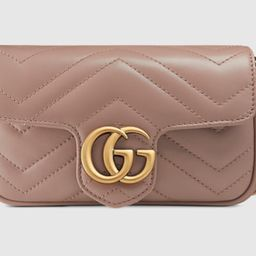 GG Marmont matelassé leather super mini bag   Gucci (US)