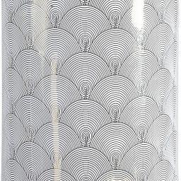 "Jonathan Y TBL1001A Fish Scale 17"" Modern Ceramic Garden Stool, White/Gold | Amazon (US)"