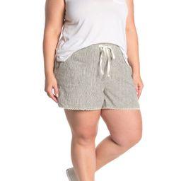 Caslon | Striped Linen Blend Shorts | Nordstrom Rack | Nordstrom Rack