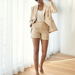 Metallic Tweed Double Breasted Novelty Button Blazer$168.00$168.005 out of 5 stars1 Reviewspale g...   Express