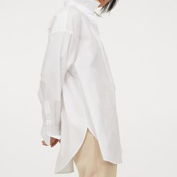 Cotton Poplin Shirt   H&M (US)