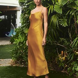 Satin Cowl Neck Maxi Slip Dress$58.80 marked down from $98.00$98.00 $58.80Price Reflects 40% Off5...   Express