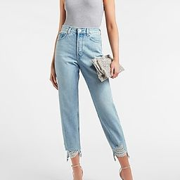 High Waisted Original Cropped Ripped Hem Dad Jeans$66.00 marked down from $88.00$88.00 $66.00Pric...   Express