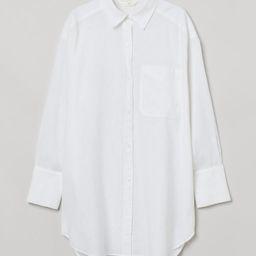 Oversized Linen-blend Shirt | H&M (US)