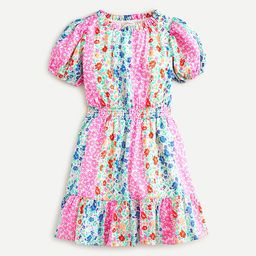 Girls' dress in floral stripe   J.Crew US