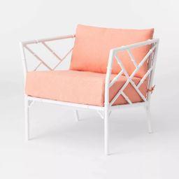 Pomelo 2pk Patio Club Chair - Coral - Opalhouse™ | Target