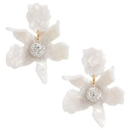 Small Crystal Lily Earrings | Nordstrom