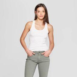 Women's Slim Fit Rib Racerback Tank Top - Universal Thread™   Target