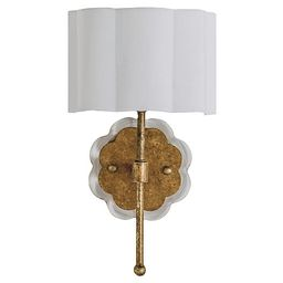 Shirley Sconce Gold, Ashwell Gold | One Kings Lane