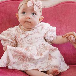 BABY ODETTE DRESS SET   Ivy City Co