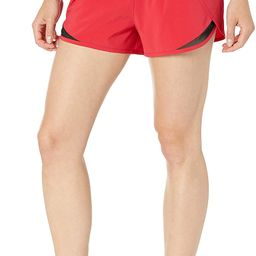 Amazon Brand - Core 10 Women's (XS-3X) Knit Waistband Woven Run Short with Internal Brief Liner a... | Amazon (US)