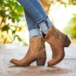 Plain Jane Shortie   Lane Boots